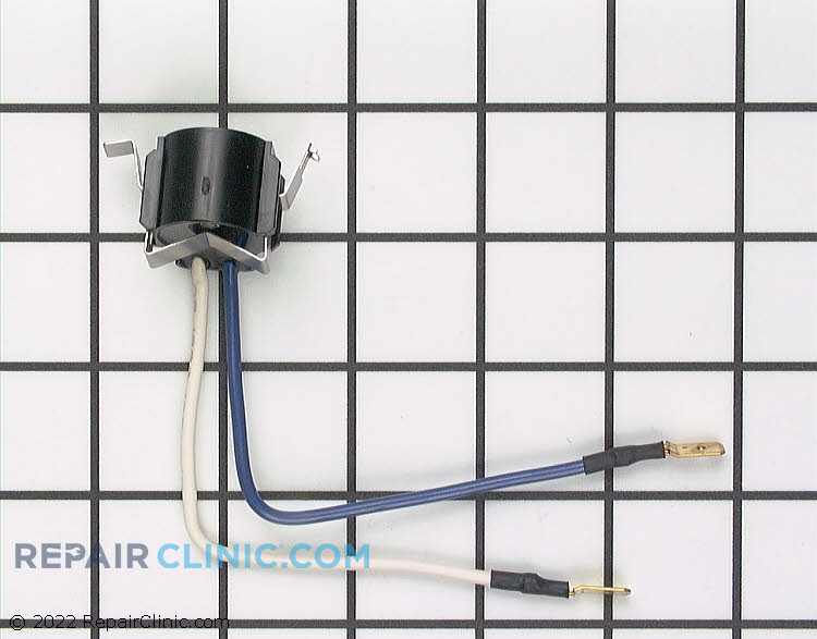 Defrost thermostat, L47-28 with wires and bracket