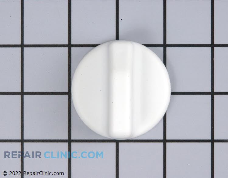 Oven thermostat knob, white