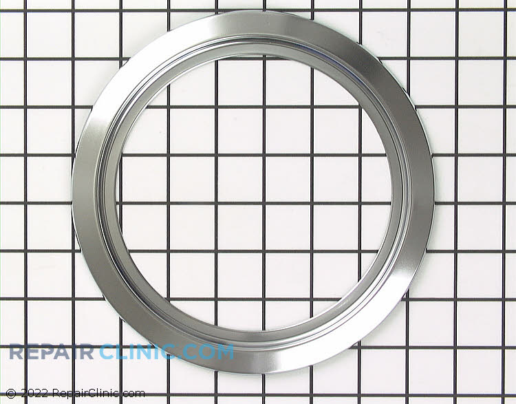 """Chrome trim ring for 6-inch flip up burner. 6"""" bowl, 8"""" matching burner and bowl can be found in the related parts below."""