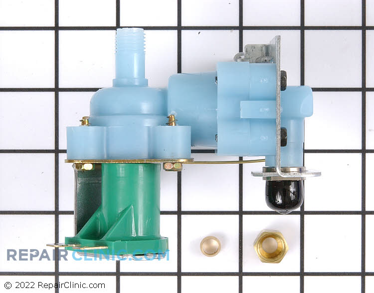 Icemaker water inlet valve kit