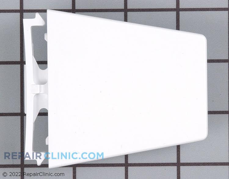 Refrigerator door shelf retainer bracket, package of 2
