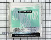 Bag-trash-optional 12 pack-white plastic - Part # 12818 Mfg Part # 5303296400