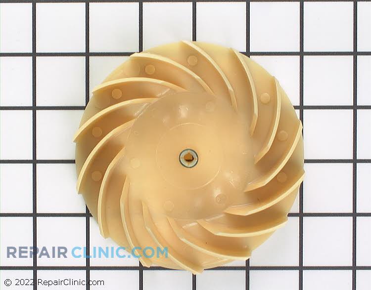 Evaporator fan blower wheel