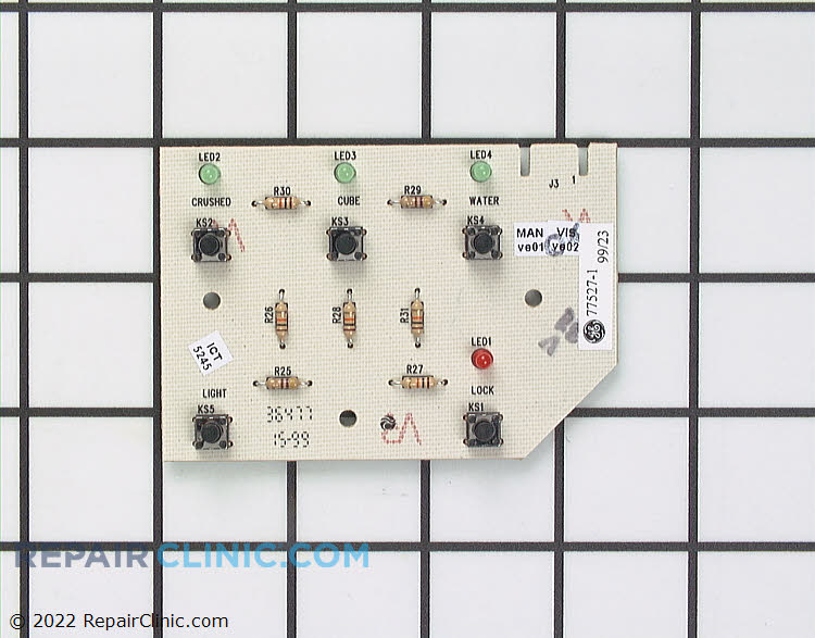 Dispenser Control Board WP61003421 Alternate Product View