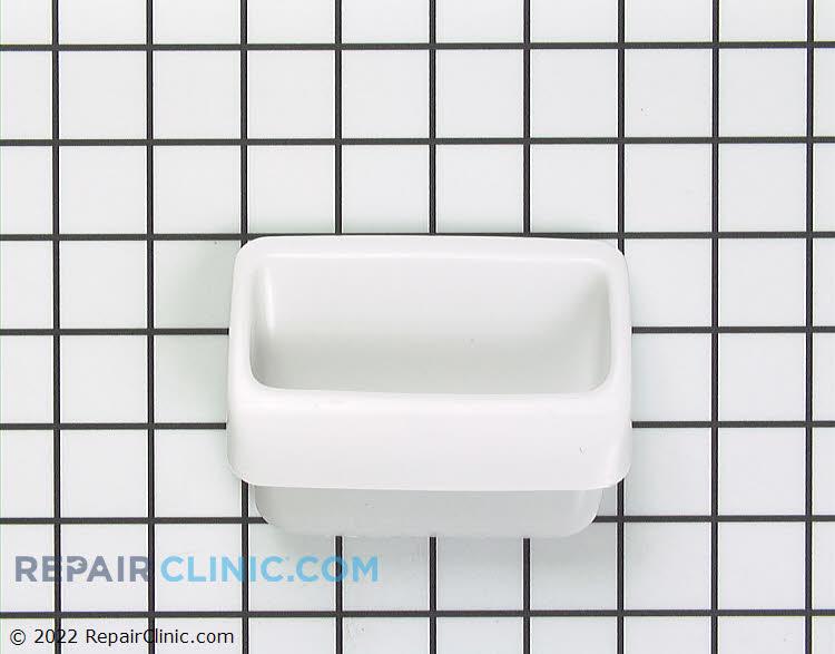 Door handle, white
