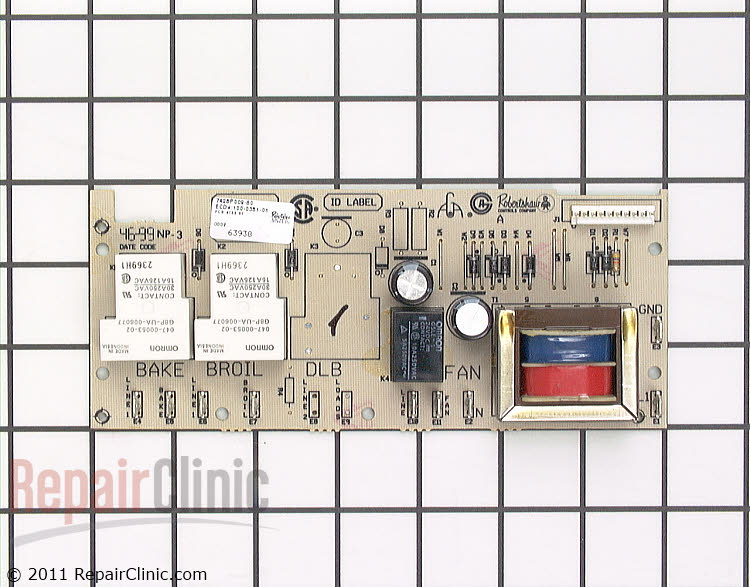 Relay Board WP7428P009-60 Alternate Product View