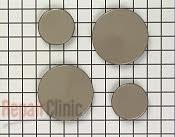 Surface Burner Cap - Part # 1553 Mfg Part # 4175451
