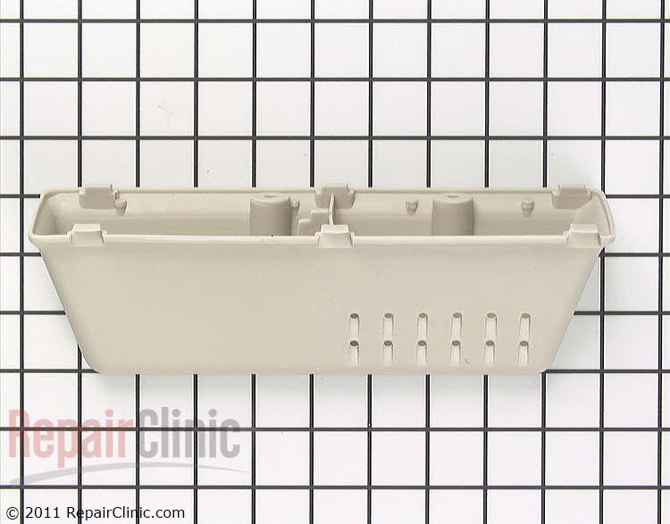 Front load washer drum vane