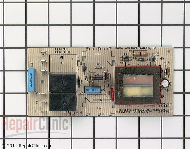 Circuit Board & Timer 8052522 Alternate Product View