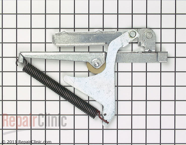 Door Hinge W10876639 Alternate Product View