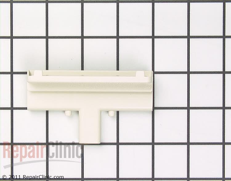 Handle for dishwasher door, almond