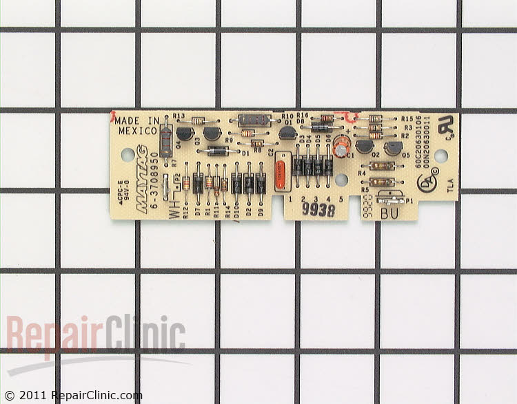 Dryness Control Board WP33001212 Alternate Product View