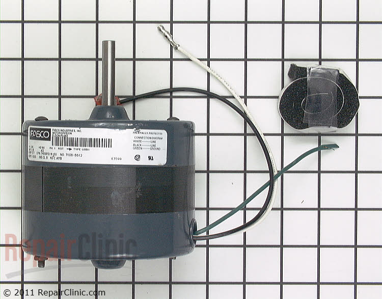 Exhaust Fan Motor 12001311        Alternate Product View