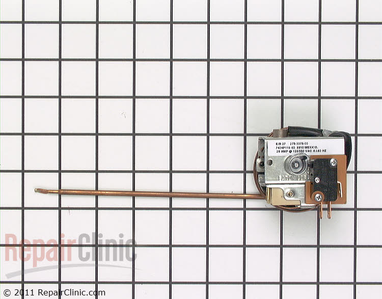 Temperature Control Thermostat WP74003267 Alternate Product View
