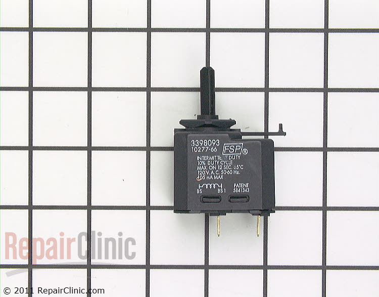 Buzzer Switch WP3398093 Alternate Product View