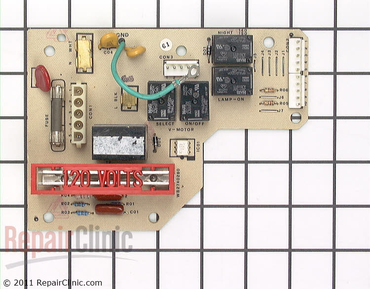 Circuit Board & Timer WB27X280 Alternate Product View