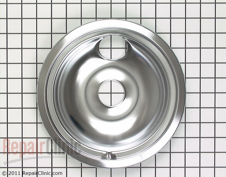Burner drip bowl for 8-inch burner