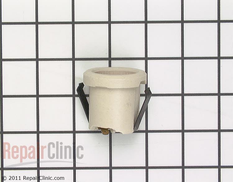 Porcelain oven light socket