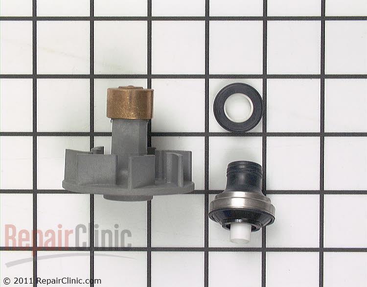Drain impeller and shaft seal kit