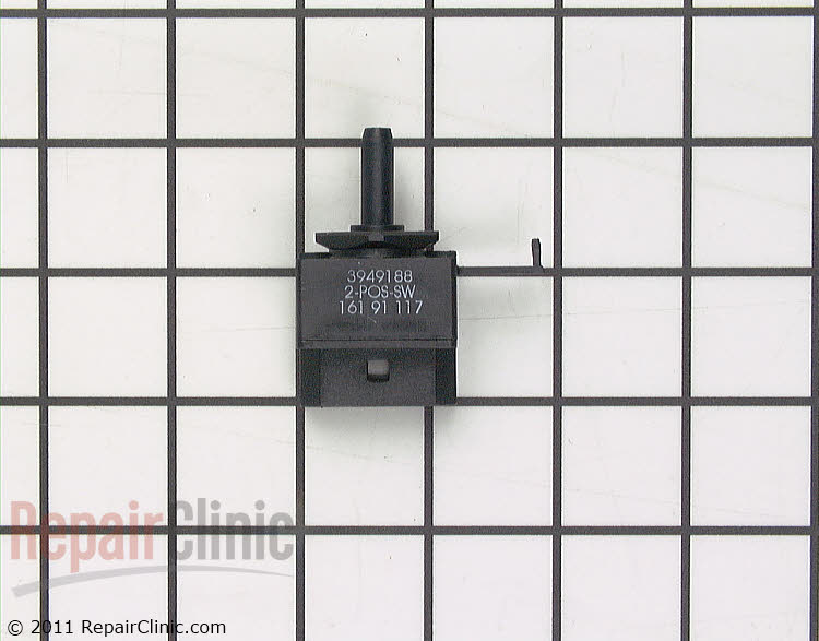 Rotary Switch W10851055 Alternate Product View