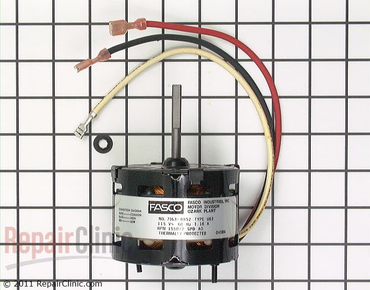 Fan Motor RA43635-2 Alternate Product View