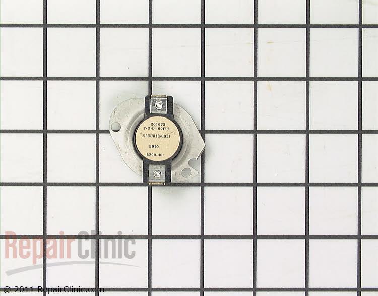 High limit thermostat, L300-40F