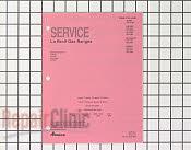 Repair Manual - Part # 218810 Mfg Part # RD231001