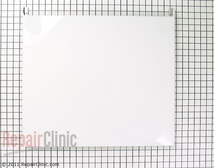 Panel front- long white