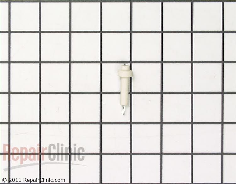 Burner spark electrode