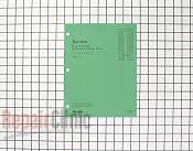 Manuals, Care Guides & Literature - Part # 219920 Mfg Part # RS2100001