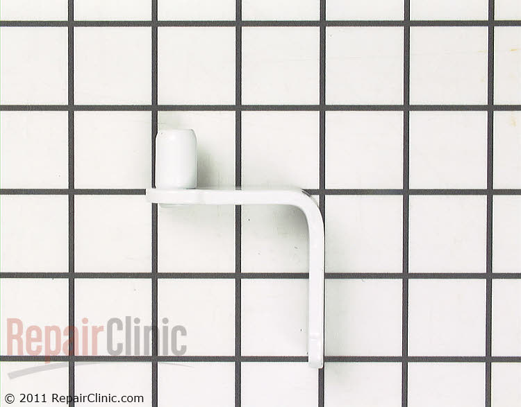 Bottom hinge with pin, refrigerator door