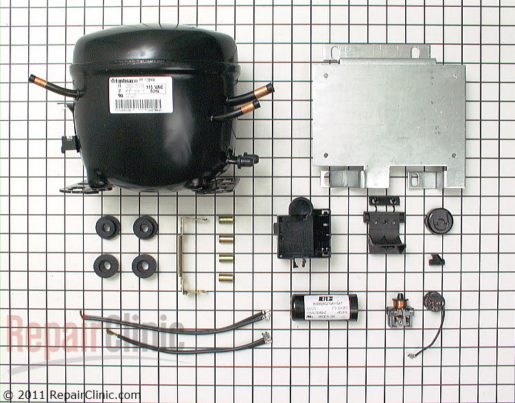 Compressor W10439638 Alternate Product View