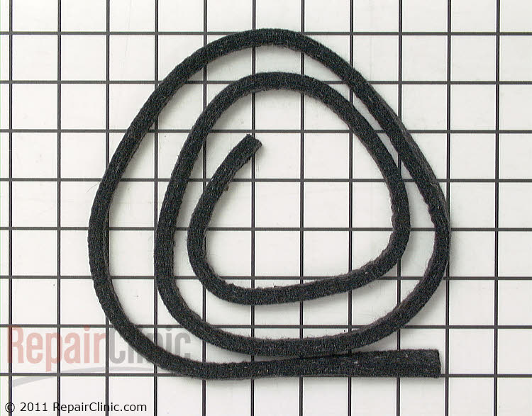 Felt Seal WE09X20441 00587786 ge dryer parts general electric dryer parts repairclinic  at creativeand.co
