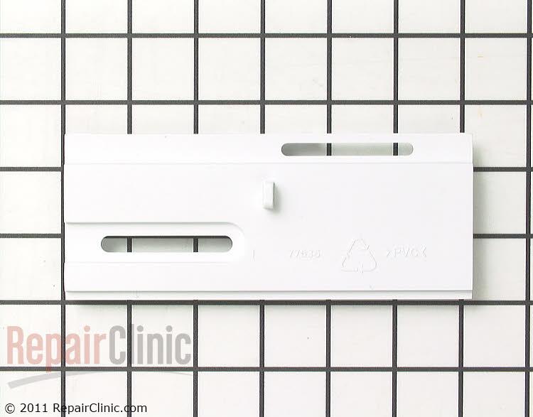 Selector slide, white