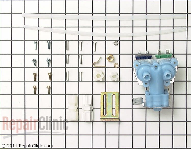 Water valve kit for icemaker/water dispenser