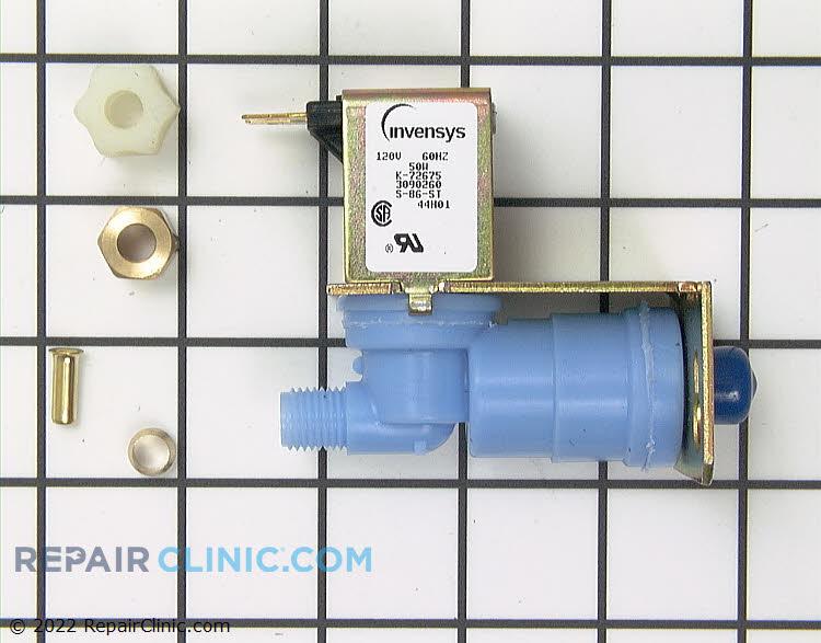 Water inlet valve kit, (601f,611,632,642,650,532,542,561)