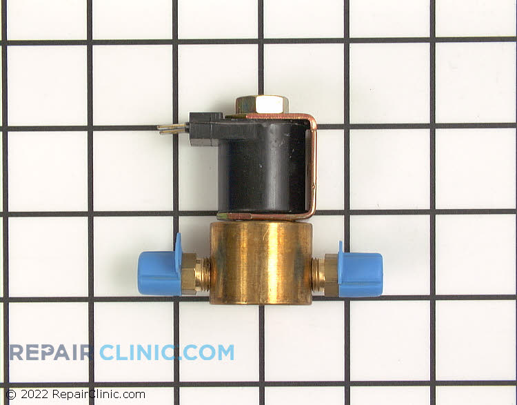 Stove top surface burner solenoid valve.