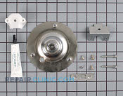 Dryer rear drum bearing kit