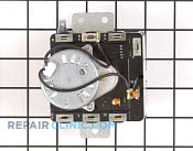 Timer WP3976576 00612659 kenmore dryer not heating model 110 77622600 repair parts  at gsmx.co