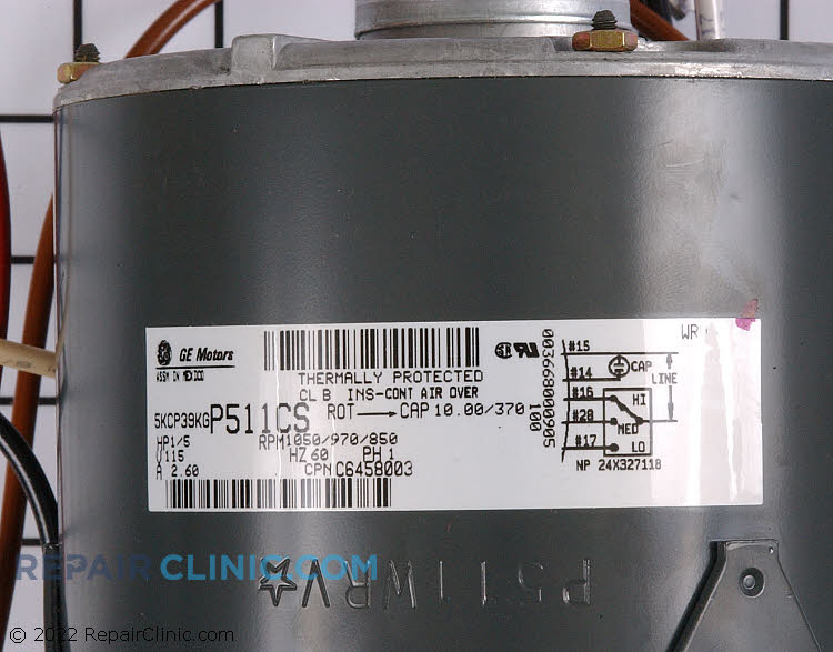 Blower Motor C6458003        Alternate Product View