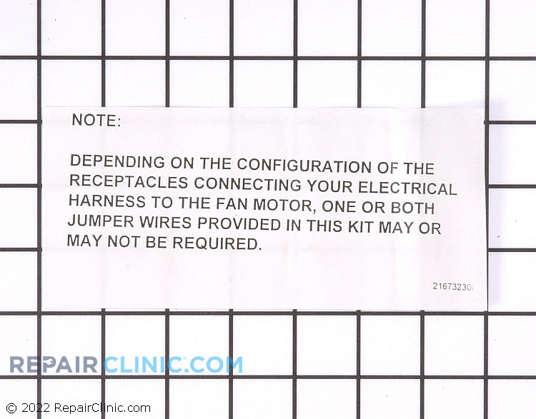 Evaporator Fan Motor 5304442620 Alternate Product View