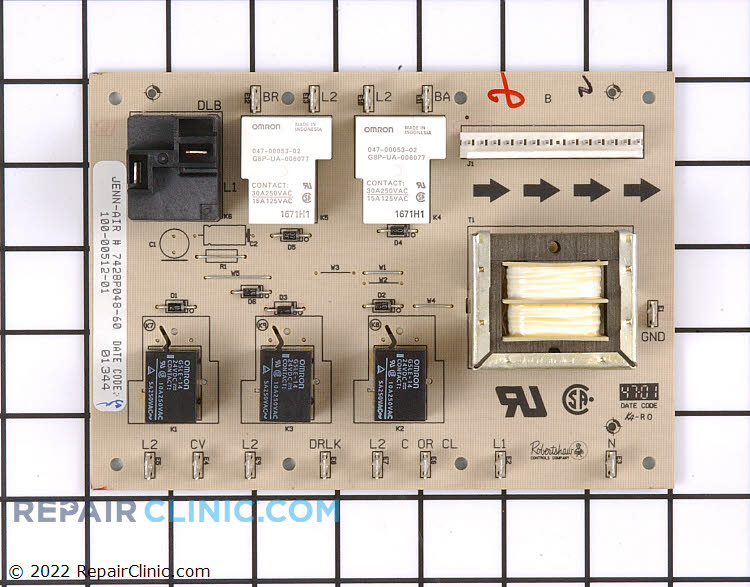 Relay Board WPY04100260 Alternate Product View