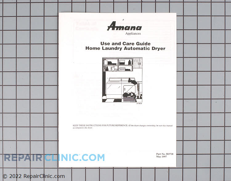 Owner's Manual 503728          Alternate Product View