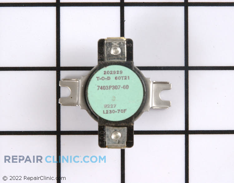 High Limit Thermostat 7403P307-60     Alternate Product View