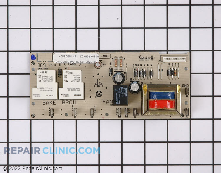 Relay Board 7428P010-60     Alternate Product View
