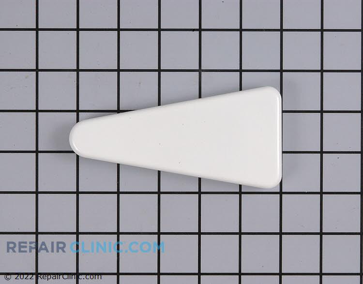 Door hinge cover, white