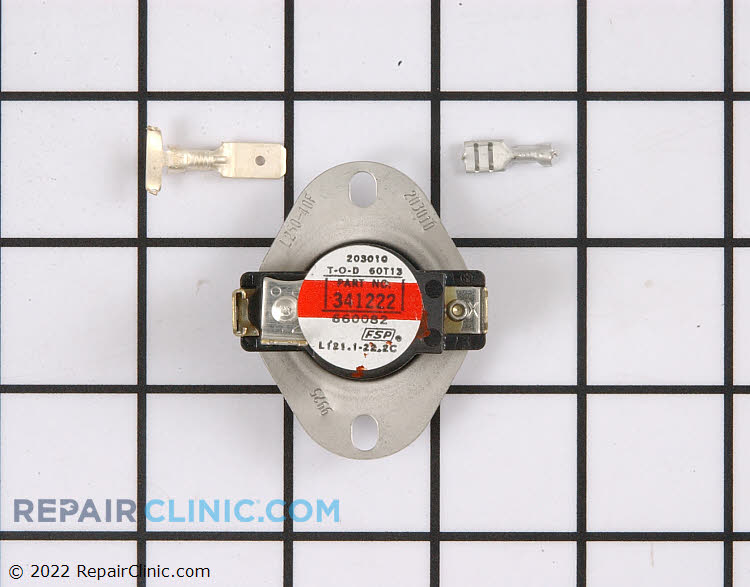 High Limit Thermostat 279052 Alternate Product View