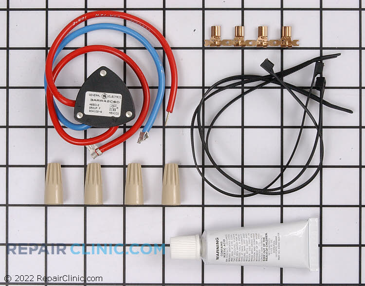 Compressor relay kit with all related mounting hardware