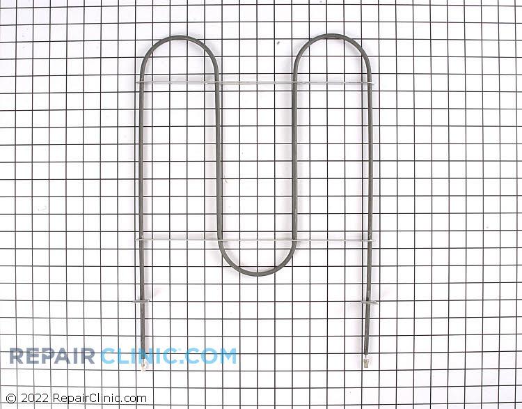 Oven broiler heating element