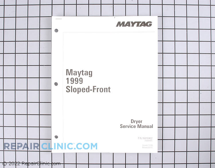 Repair Manual 16023110        Alternate Product View